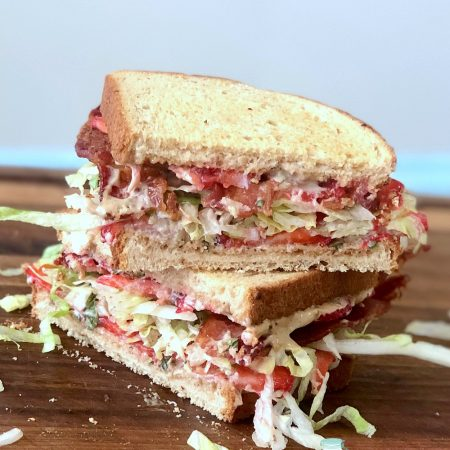 Strawberry Balsamic BLT Sandwich