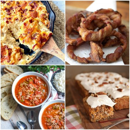 meal plan Monday featured recipe collage