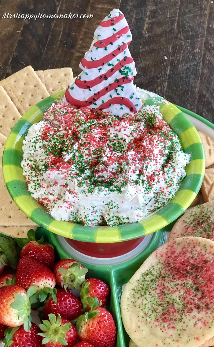 Little Debbie Christmas Tree Dip