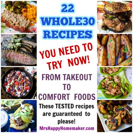 22 Whole30 Recipes you need to try now collage