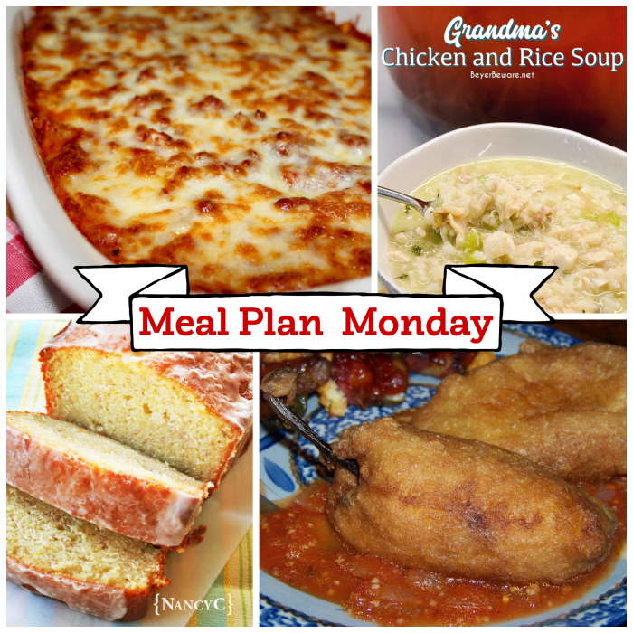 Meal Plan Monday featured collage