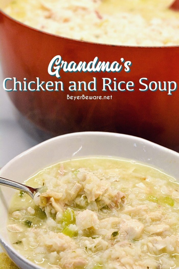 Grandma's Chicken and Rice Soup