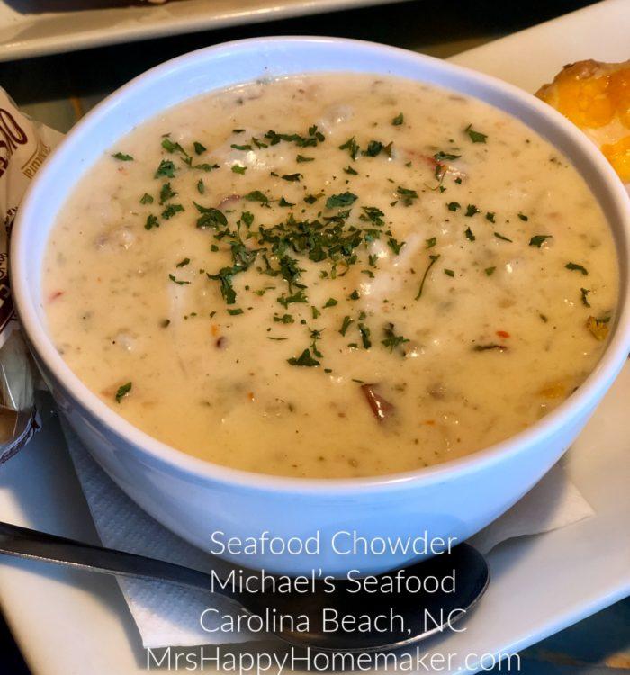 Michael's Seafood Seafood chowder