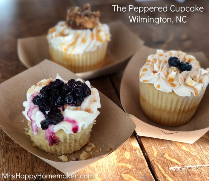 The peppered cupcake Wilmington NC