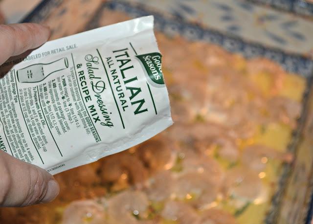 Italian dry salad mix/seasoning