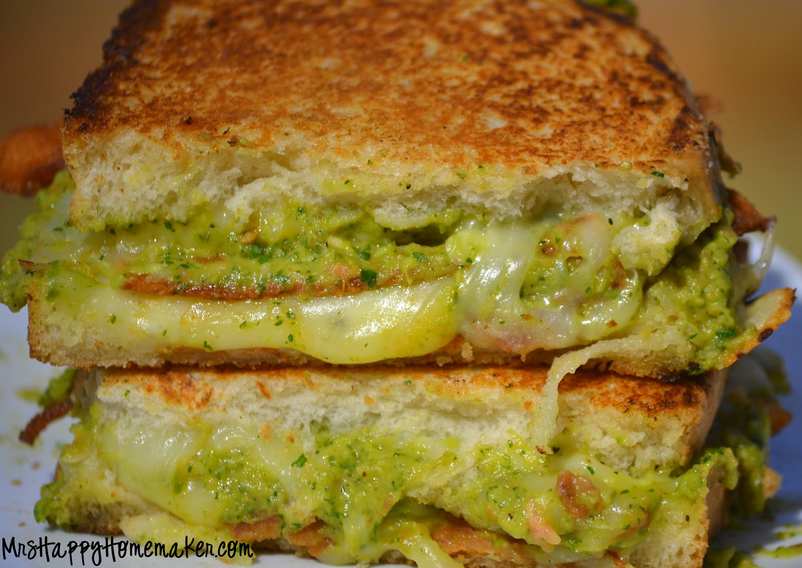 ... beans and guacamole caramelized cheese covered grilled cheese sandwich
