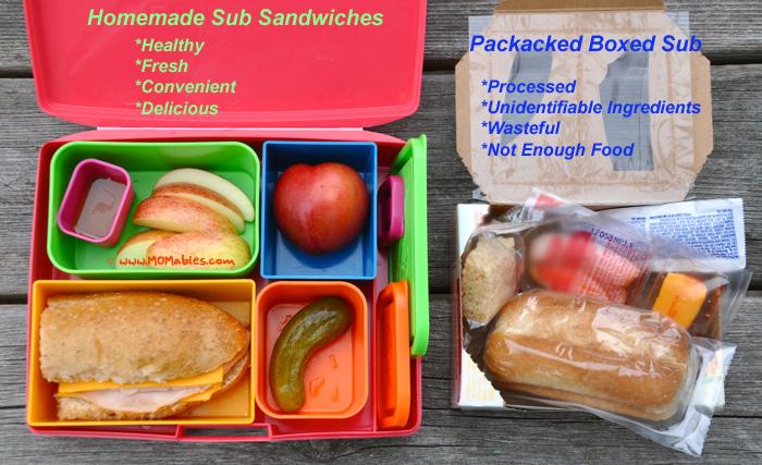 Homemade Sub Sandwich Lunchable - Mrs