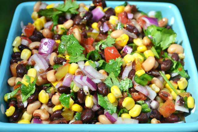 bean and corn salsa