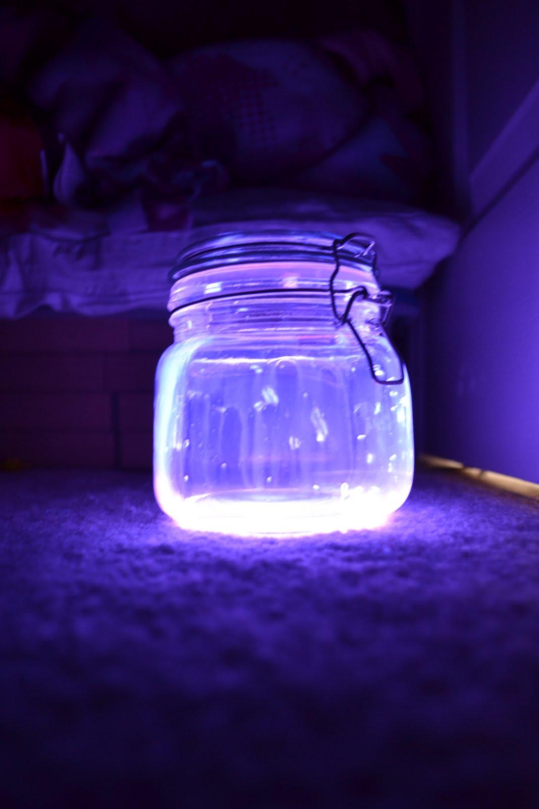 Glow stick jar