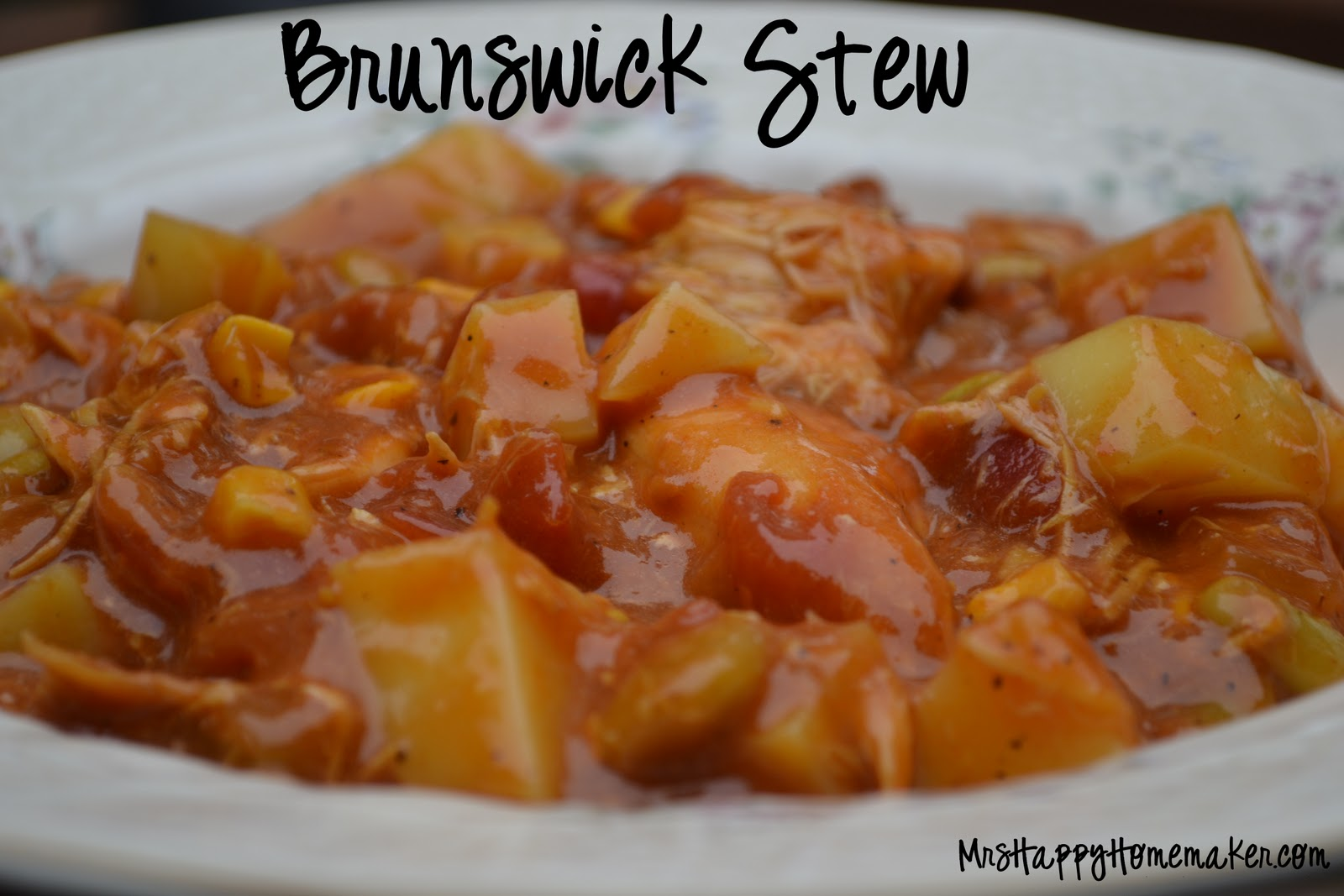 Best Ever} Brunswick Stew - Mrs Happy Homemaker