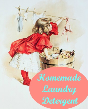 Homemade Liquid Laundry Detergent, Less than $2 for 5 Gallons!