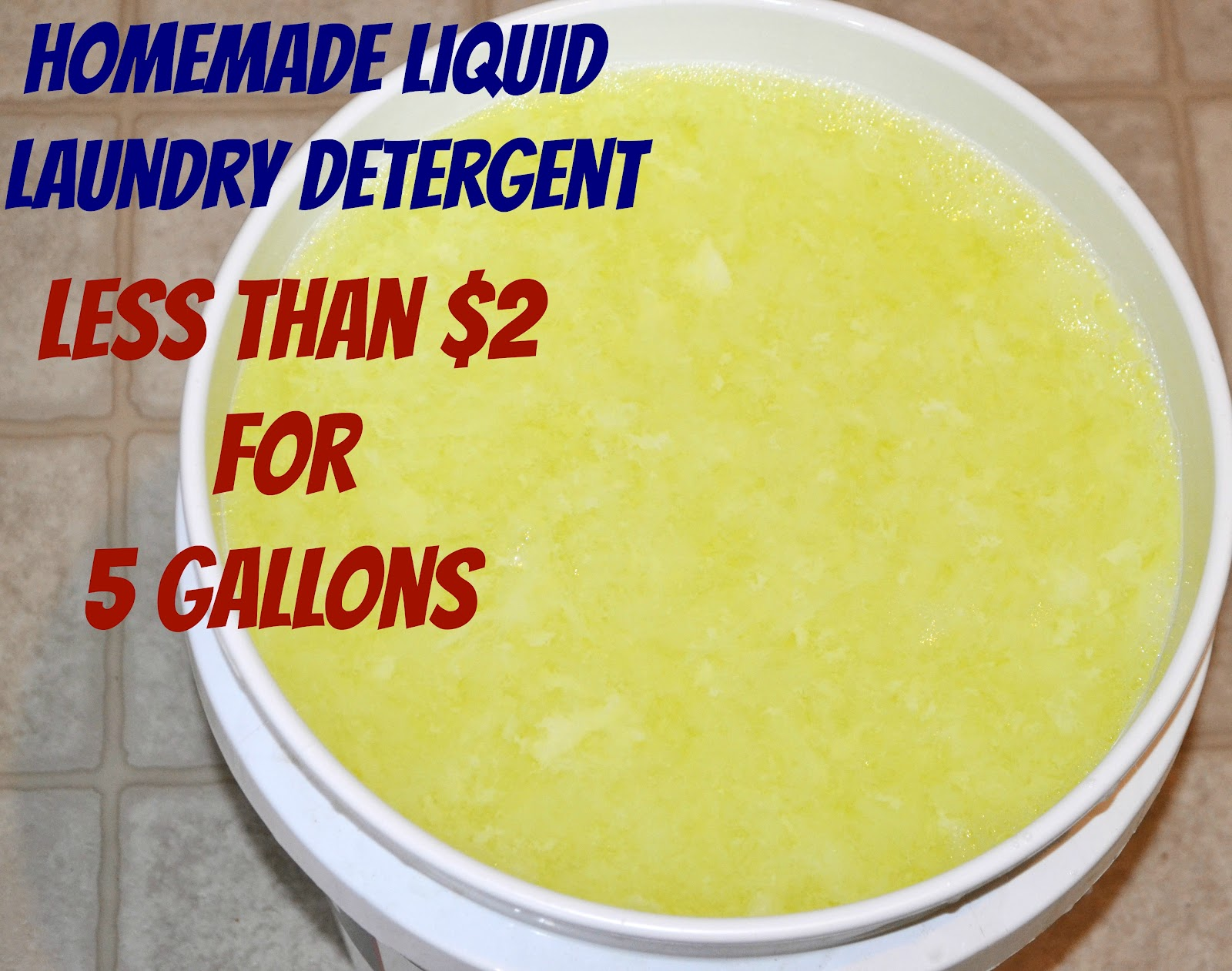 How Much He Detergent To Use Homemade Liquid Laundry Detergent Mrs Happy Homemaker