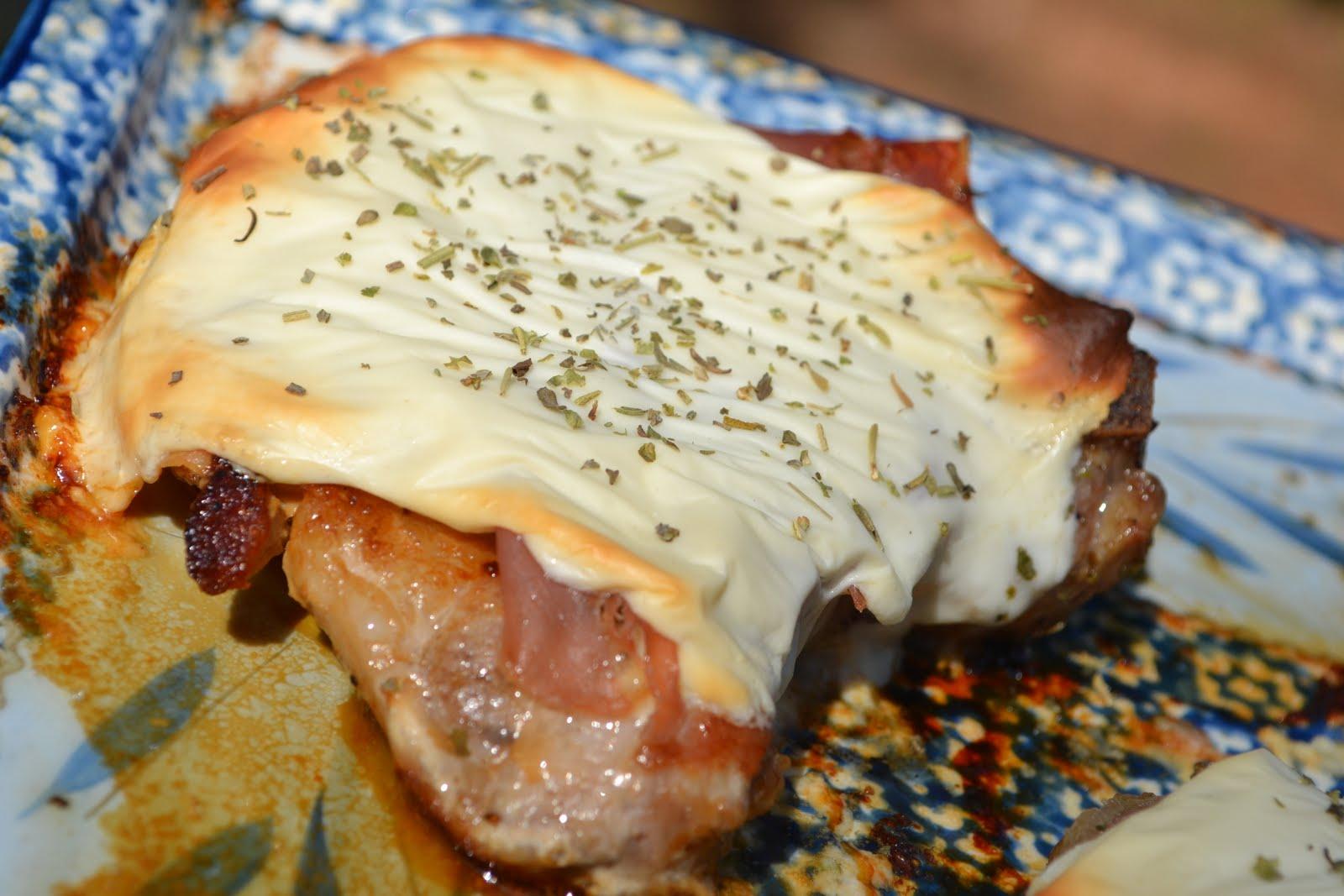 Pork Chops with Mozzarella & Prosciutto {Secret Recipe ...