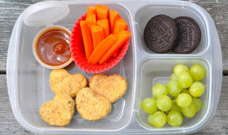 chicken nuggets homemade lunchable