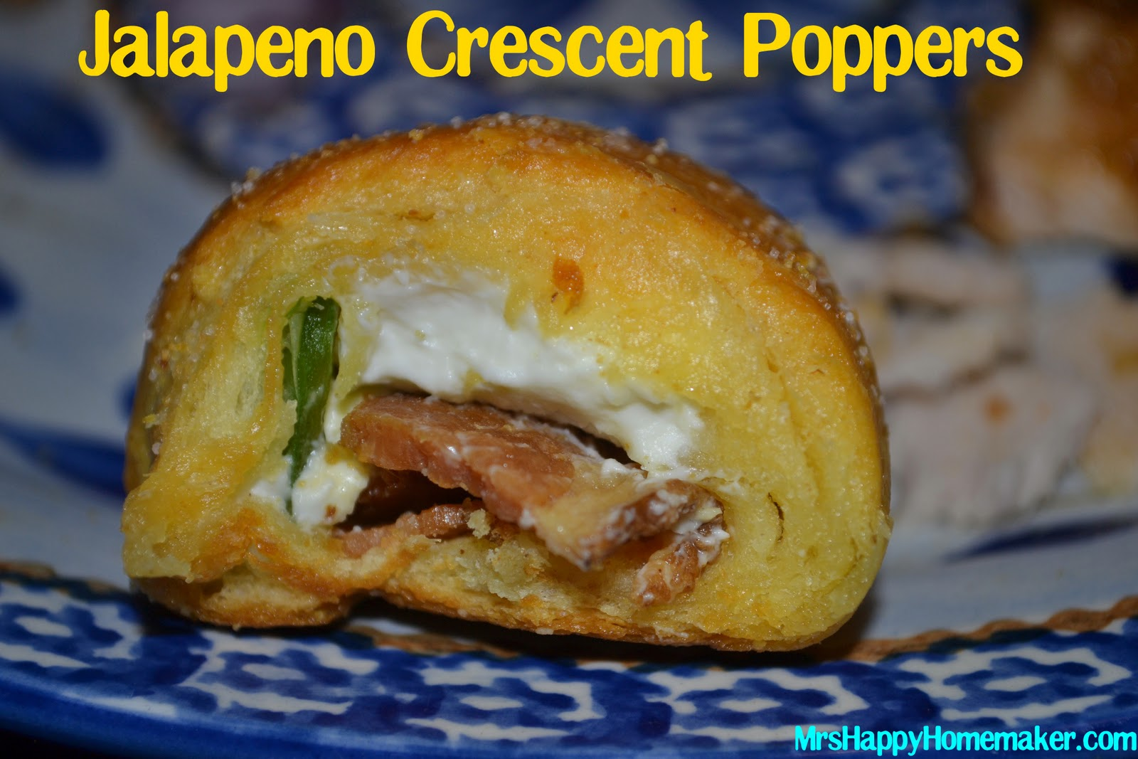 ... cheese , the jalapeno popper dip , and of course – the bacon wrapped