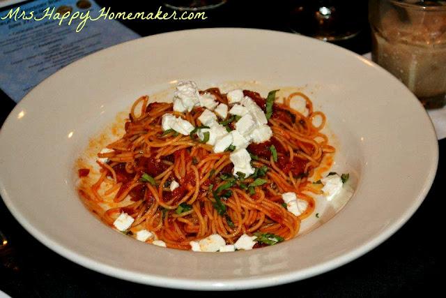 Capellini Pomodoro - Alta Cucina Tomatoes, Garlic Basil, Fiscalini Mozzarella, Sciabici Olive Oil