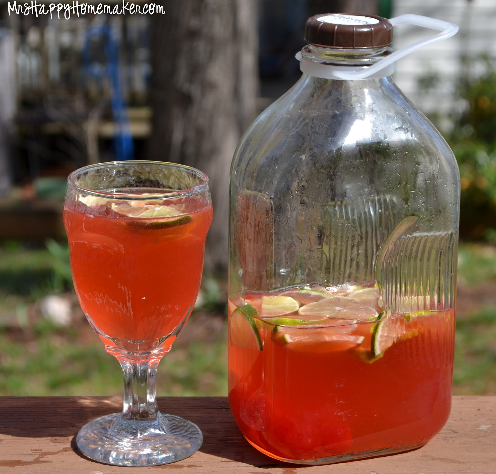 Cherry Limeade - Mrs Happy Homemaker