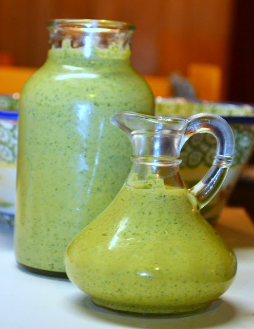 cilantro cream sauce