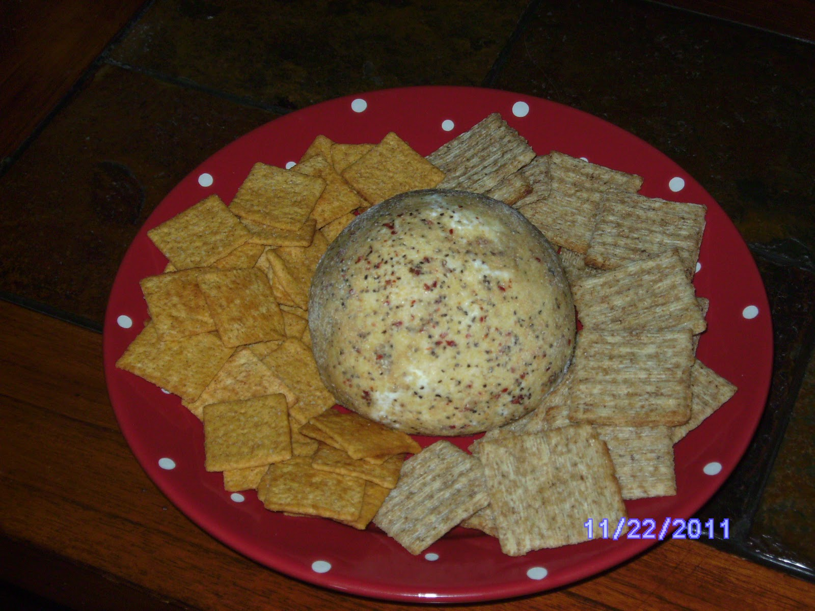 Becky's Easy Peasy 2-Ingredient Cheese Ball - Mrs Happy Homemaker