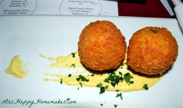 Saffron Risotto Arancini - Point Reyes Toma, Lemon Artichoke Aioli