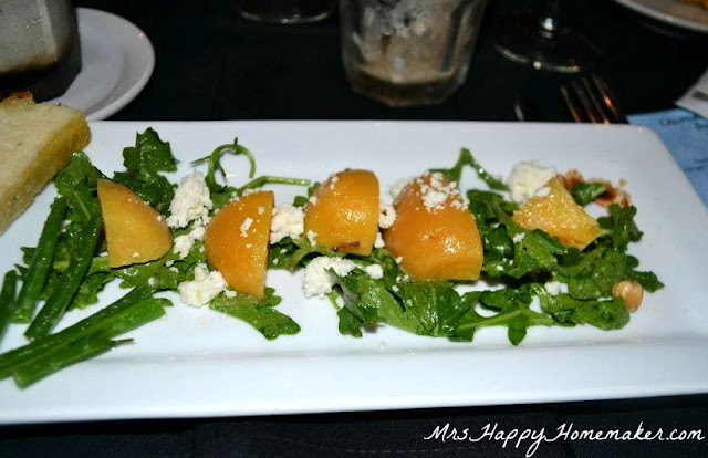 Beet Salad - Don Francisco Queso Fresco, Arugula, Toasted Hazelnuts, Green Beans, Champagne Vinaigrette