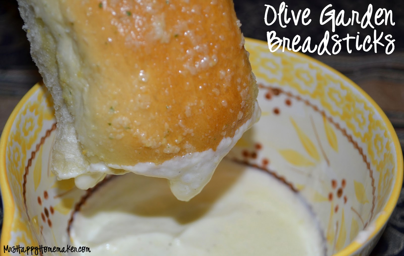 Olive Garden Breadsticks - Mrs Happy Homemaker