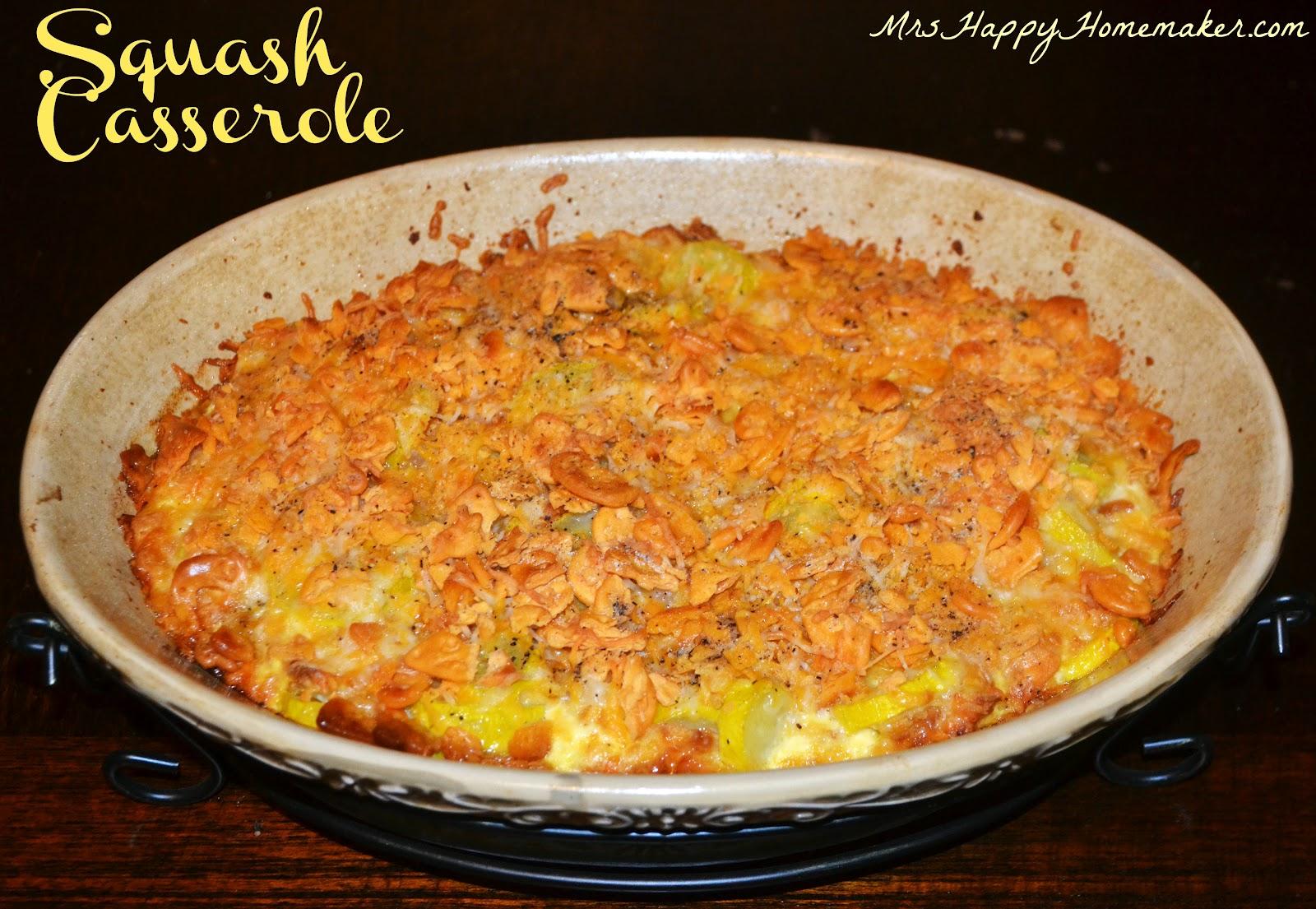 Old fashioned squash casserole 82