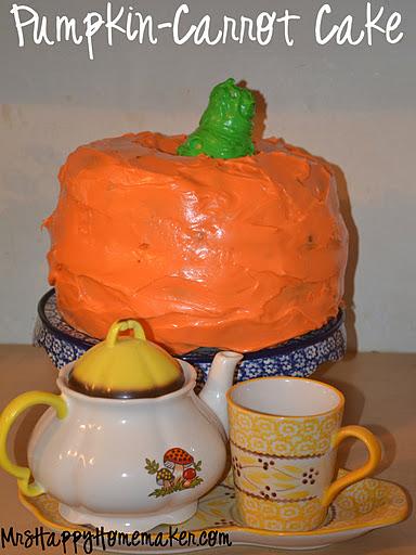 Realistic Carrot Shaped Cake