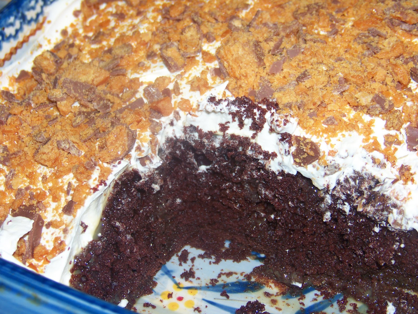 Butterfinger Cake Recipe Devil S Food